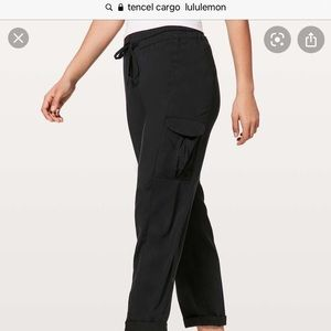 Lululemon cargo style pants